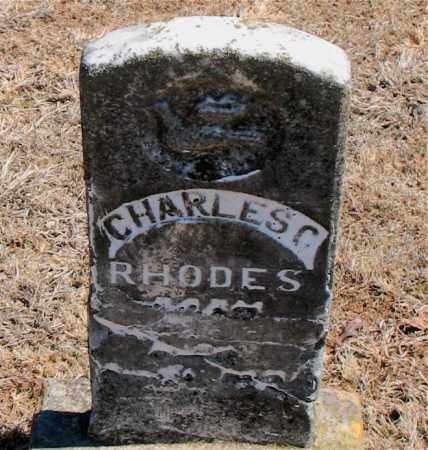 RHODES, CHARLES C. - Carroll County, Arkansas | CHARLES C. RHODES - Arkansas Gravestone Photos