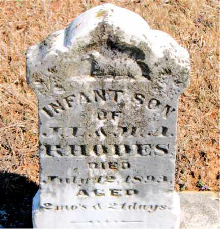 RHODES, INFANT SON - Carroll County, Arkansas | INFANT SON RHODES - Arkansas Gravestone Photos