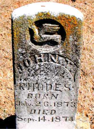 RHODES, JOHN T. - Carroll County, Arkansas | JOHN T. RHODES - Arkansas Gravestone Photos