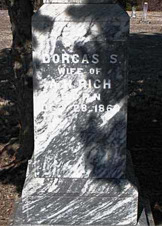 RICH, DORCAS S - Carroll County, Arkansas | DORCAS S RICH - Arkansas Gravestone Photos