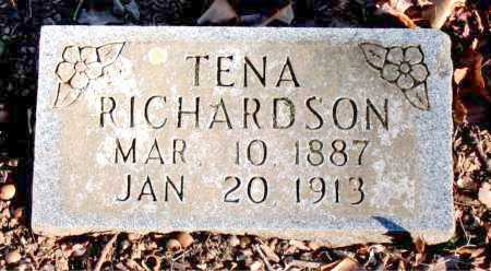 RICHARDSON, TENA - Carroll County, Arkansas | TENA RICHARDSON - Arkansas Gravestone Photos