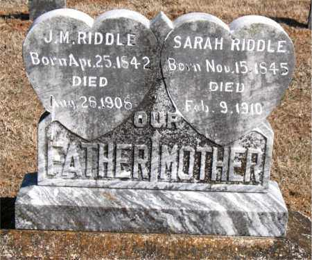 RIDDLE, SARAH - Carroll County, Arkansas | SARAH RIDDLE - Arkansas Gravestone Photos