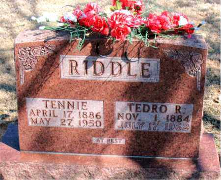 RIDDLE, TEDRO R. - Carroll County, Arkansas | TEDRO R. RIDDLE - Arkansas Gravestone Photos