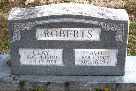 ROBERTS, CLAY - Carroll County, Arkansas | CLAY ROBERTS - Arkansas Gravestone Photos