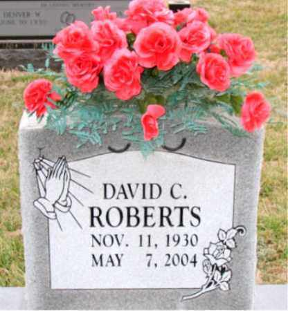 ROBERTS, DAVID C. - Carroll County, Arkansas | DAVID C. ROBERTS - Arkansas Gravestone Photos