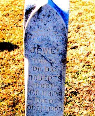 ROBERTS, JEWEL - Carroll County, Arkansas   JEWEL ROBERTS - Arkansas Gravestone Photos
