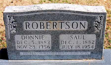 ROBERTSON, DONNIE - Carroll County, Arkansas | DONNIE ROBERTSON - Arkansas Gravestone Photos