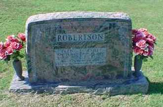ROBERTSON, FRED - Carroll County, Arkansas | FRED ROBERTSON - Arkansas Gravestone Photos