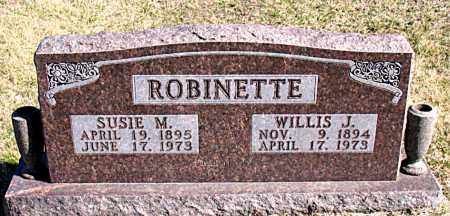 ROBINETTE, SUSIE M - Carroll County, Arkansas | SUSIE M ROBINETTE - Arkansas Gravestone Photos