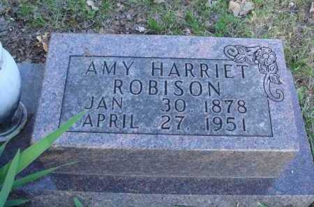 ROBISON, AMY HARRIET - Carroll County, Arkansas | AMY HARRIET ROBISON - Arkansas Gravestone Photos