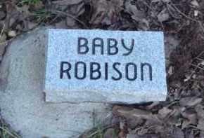 ROBISON, BABY - Carroll County, Arkansas   BABY ROBISON - Arkansas Gravestone Photos