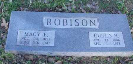ROBISON, MACY E - Carroll County, Arkansas | MACY E ROBISON - Arkansas Gravestone Photos