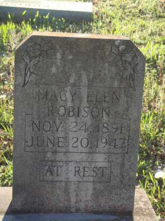ROBISON, MACY ELEN - Carroll County, Arkansas | MACY ELEN ROBISON - Arkansas Gravestone Photos