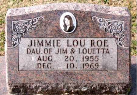 ROE, JIMMIE  LOU - Carroll County, Arkansas | JIMMIE  LOU ROE - Arkansas Gravestone Photos