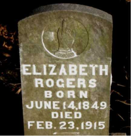 ROGERS, ELIZABETH - Carroll County, Arkansas | ELIZABETH ROGERS - Arkansas Gravestone Photos