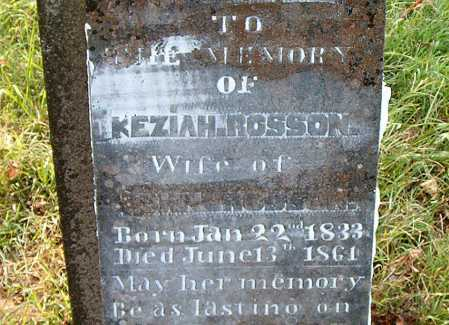 ROSSON, KEZIAH - Carroll County, Arkansas | KEZIAH ROSSON - Arkansas Gravestone Photos