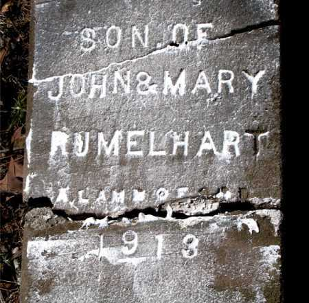 RUMELHART, INFANT SON - Carroll County, Arkansas | INFANT SON RUMELHART - Arkansas Gravestone Photos