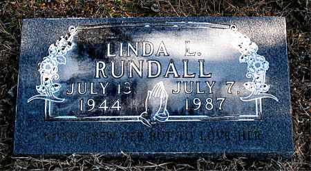 RUNDALL, LINDA L - Carroll County, Arkansas | LINDA L RUNDALL - Arkansas Gravestone Photos