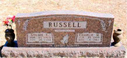 RUSSELL, GOLDIE E. - Carroll County, Arkansas | GOLDIE E. RUSSELL - Arkansas Gravestone Photos