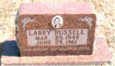RUSSELL, LARRY - Carroll County, Arkansas | LARRY RUSSELL - Arkansas Gravestone Photos