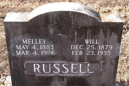 RUSSELL, WILL - Carroll County, Arkansas | WILL RUSSELL - Arkansas Gravestone Photos