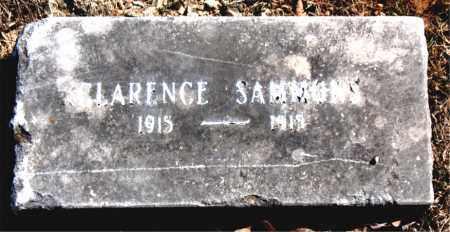 SAMMONS, CLARENCE - Carroll County, Arkansas | CLARENCE SAMMONS - Arkansas Gravestone Photos