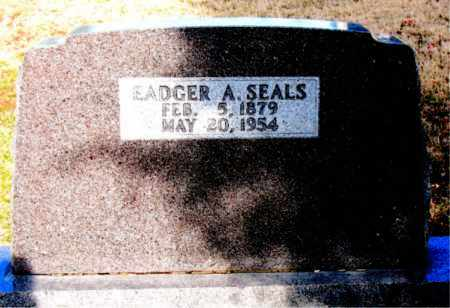 SEALS, EADGER A - Carroll County, Arkansas | EADGER A SEALS - Arkansas Gravestone Photos