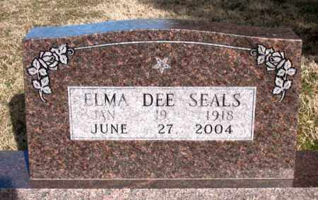 SEALS, ELMA DEE - Carroll County, Arkansas | ELMA DEE SEALS - Arkansas Gravestone Photos