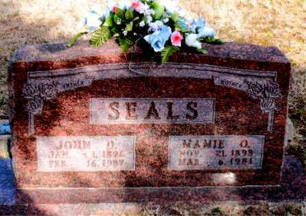 SEALS, JOHN D - Carroll County, Arkansas | JOHN D SEALS - Arkansas Gravestone Photos