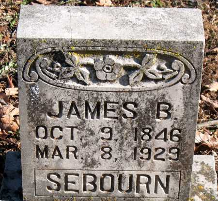 SEBOURN, JAMES B. - Carroll County, Arkansas | JAMES B. SEBOURN - Arkansas Gravestone Photos