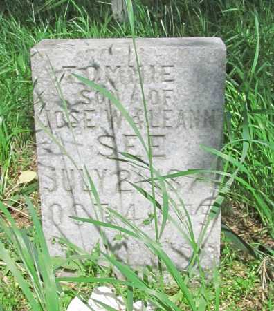 SEE, TOMMIE - Carroll County, Arkansas | TOMMIE SEE - Arkansas Gravestone Photos
