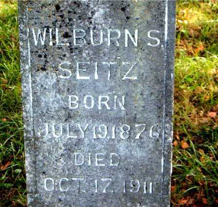 SEITZ, WILBURN  S. - Carroll County, Arkansas | WILBURN  S. SEITZ - Arkansas Gravestone Photos