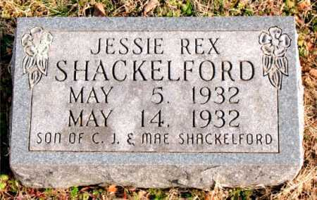 SHACKELFORD, JESSIE REX - Carroll County, Arkansas | JESSIE REX SHACKELFORD - Arkansas Gravestone Photos
