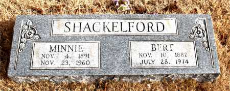 SHACKELFORD, MINNIE - Carroll County, Arkansas | MINNIE SHACKELFORD - Arkansas Gravestone Photos