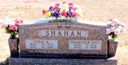 SHAHAN, CORA A. - Carroll County, Arkansas | CORA A. SHAHAN - Arkansas Gravestone Photos