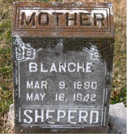 SHEPERD, BLANCHE - Carroll County, Arkansas | BLANCHE SHEPERD - Arkansas Gravestone Photos