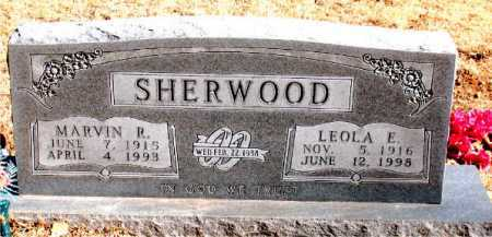 SHERWOOD, MARVIN R - Carroll County, Arkansas | MARVIN R SHERWOOD - Arkansas Gravestone Photos