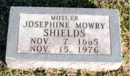SHIELDS, JOSEPHINE  MOWRY - Carroll County, Arkansas | JOSEPHINE  MOWRY SHIELDS - Arkansas Gravestone Photos
