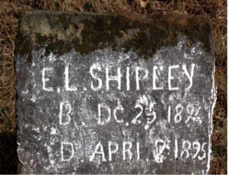 SHIPLEY, E.L. - Carroll County, Arkansas | E.L. SHIPLEY - Arkansas Gravestone Photos