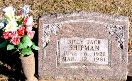 SHIPMAN, BILLY JACK - Carroll County, Arkansas | BILLY JACK SHIPMAN - Arkansas Gravestone Photos