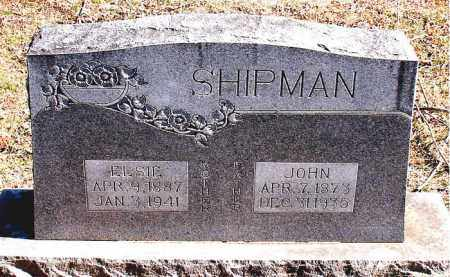 SHIPMAN, JOHN - Carroll County, Arkansas | JOHN SHIPMAN - Arkansas Gravestone Photos