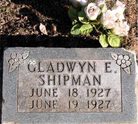 SHIPMAN, GLADWYN  E. - Carroll County, Arkansas | GLADWYN  E. SHIPMAN - Arkansas Gravestone Photos