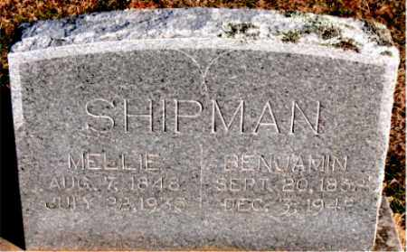 SHIPMAN, BENJAMIN - Carroll County, Arkansas | BENJAMIN SHIPMAN - Arkansas Gravestone Photos