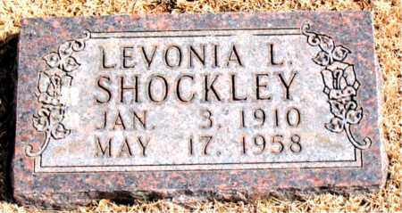 SHOCKLEY, LEVONIA L. - Carroll County, Arkansas | LEVONIA L. SHOCKLEY - Arkansas Gravestone Photos