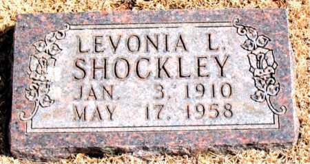 SHOCKLEY, LEVONIA L. - Carroll County, Arkansas | LEVONIA L. SHOCKLEY - Arkansas Gravestone Photos