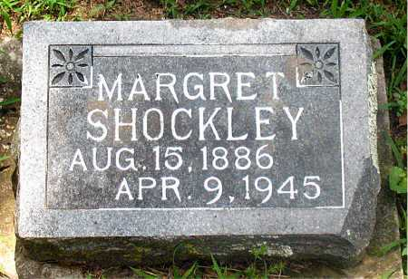 SHOCKLEY, MARGRET - Carroll County, Arkansas | MARGRET SHOCKLEY - Arkansas Gravestone Photos
