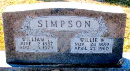 SIMPSON, WILLIAM  L. - Carroll County, Arkansas | WILLIAM  L. SIMPSON - Arkansas Gravestone Photos