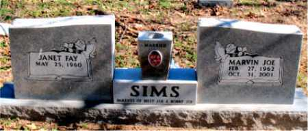 SIMS, MARVIN JOE - Carroll County, Arkansas | MARVIN JOE SIMS - Arkansas Gravestone Photos