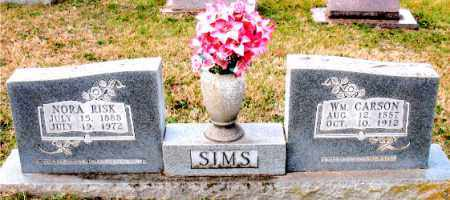 RISK SIMS, NORA - Carroll County, Arkansas | NORA RISK SIMS - Arkansas Gravestone Photos