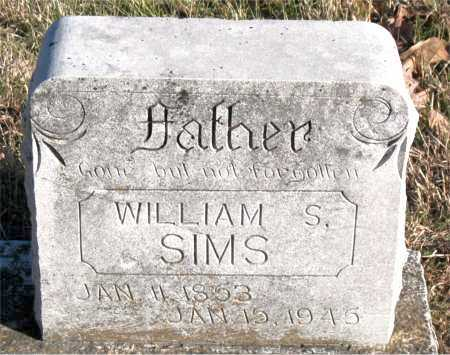 SIMS, WILLIAM S. - Carroll County, Arkansas | WILLIAM S. SIMS - Arkansas Gravestone Photos